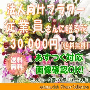 従業員さんに贈る花 30,000円   送料無料     花束・アレンジ・プリザーブドフラワー・はちもの|eehana