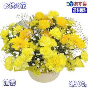 ペットのお供え・お悔やみに贈る花 フラワーアレンジ 青雲  3,500円 今だけ 送料無料 eehana