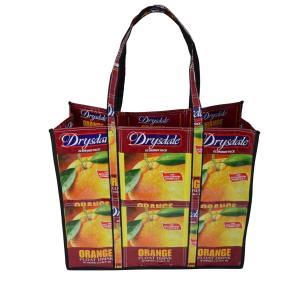 ジュースバッグ トートバッグ Drysdale タイプA オレンジ柄|eei7
