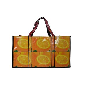 ジュースバッグ オレンジ ワイド ショート|eei7