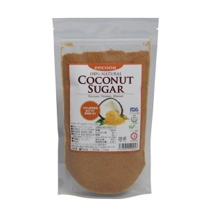 エクーアココナッツシュガーは、ココナッツの蜜液(花蜜)を原料とする無精製・無添加・無着色の100%自...
