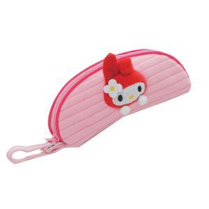 サンリオ人気キャラクターのフワフワケース ファスナー式 マイメロディ(ピンク) SR-2200-PO|eel