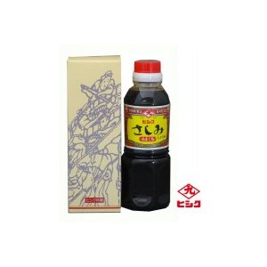 ヒシク藤安醸造 甘口 さしみ醤油 300ml×12本 S-036(同梱不可)|eel
