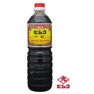 ヒシク藤安醸造 こいくち 甘露 1L×6本 箱入り(同梱不可)|eel