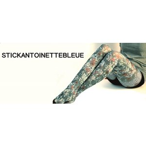 Marie Antoilette製女性用タイツ - ANTOINETTE BLEUE |eeny-japan-ya-shop