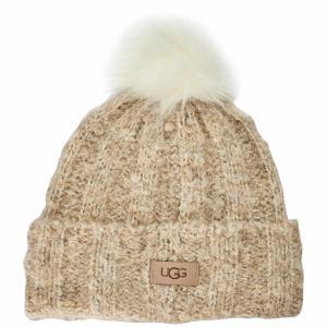 アグ Ugg レディース ニット 帽子 Boucle Knit Ht Ld14 Oatmeal|ef-3