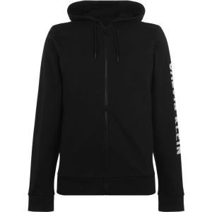 カルバンクライン Calvin Klein Performance メンズ パーカー トップス Full Zip Hoodie CK Black ef-3
