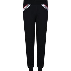 モスキーノ MOSCHINO レディース パジャマ・ボトムのみ インナー・下着 taped logo jogging underwear bottoms Black ef-3