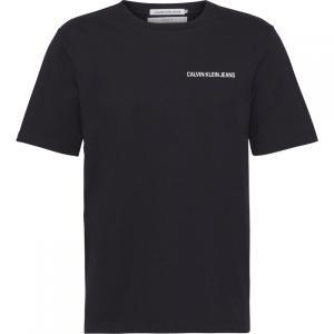 カルバンクライン Calvin Klein メンズ Tシャツ トップス American Uniform Logo T-Shirt Black ef-3