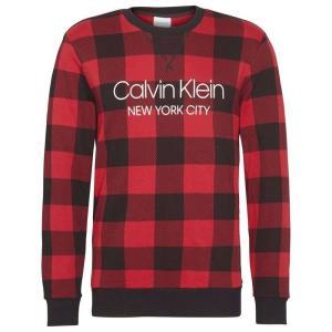 カルバンクライン Calvin Klein Underwear メンズ スウェット・トレーナー トップス Check Sweatshirt Buffalo Check ef-3