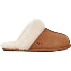 アグ Ugg レディース スリッパ シューズ・靴 Scufette 2 Slippers Chestnut|ef-3