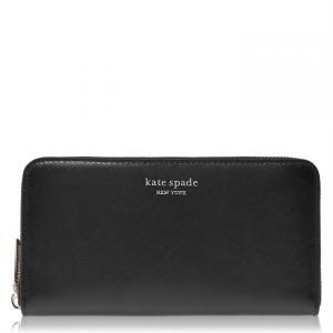 ケイト スペード Kate Spade レディース 財布 Kate Zip Round Purse Black|ef-3