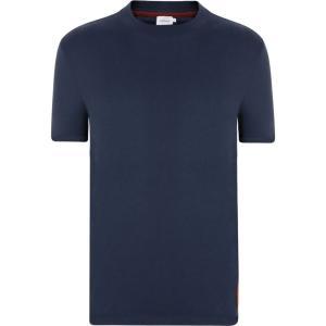 カルバンクライン CALVIN KLEIN メンズ Tシャツ トップス Sueded T Shirt Sky Captain ef-3