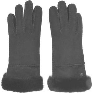 アグ Ugg レディース 手袋・グローブ Seamed Tech Gloves Black BLK|ef-3