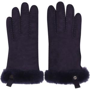 アグ Ugg レディース 手袋・グローブ Shorty Trim Gloves Nightshade NSAD|ef-3