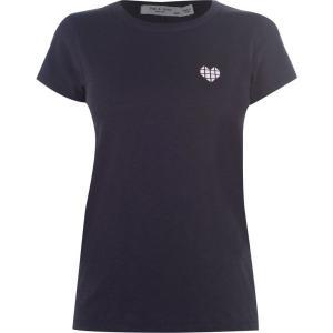 ラグ&ボーン Rag and Bone レディース Tシャツ トップス Geo Heart T Shirt Dark Grey ef-3