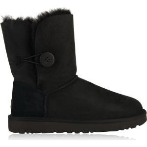 アグ Ugg レディース ブーツ シューズ・靴 Bailey Button 2 Boots Black|ef-3