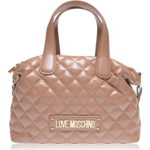 モスキーノ Love Moschino レディース バッグ ボーリングバッグ quilted bowling bag Camel ef-3