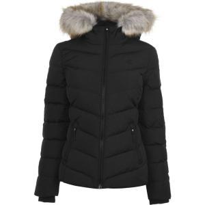 カルバンクライン Calvin Klein Jeans レディース ダウン・中綿ジャケット アウター Short Padded Down Jacket CK Black|ef-3