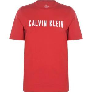 カルバンクライン Calvin Klein Performance メンズ Tシャツ ロゴTシャツ トップス Short Sleeve Logo T Shirt Red/White|ef-3
