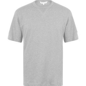 カルバンクライン Calvin Klein Jeans メンズ Tシャツ トップス Badge Tee Mid Grey|ef-3