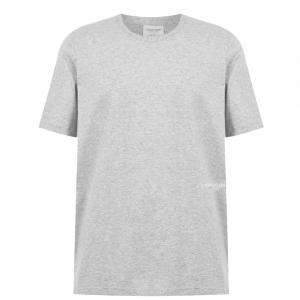 カルバンクライン Calvin Klein メンズ Tシャツ 2点セット トップス Calvin 2 Pack 1981 T Shirts Grey Heather|ef-3