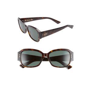 クリスチャン ディオール DIOR レディース メガネ・サングラス Ladydiorstuds5 54mm Sunglasses Dark Havana|ef-3
