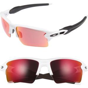 オークリー OAKLEY レディース メガネ・サングラス Flak 2.0 XL 59mm Sunglasses White|ef-3
