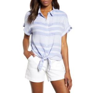ビーチランチラウンジ BEACHLUNCHLOUNGE レディース ファッション小物 Brooklyn Stripe Tie Front Shirt Classic|ef-3