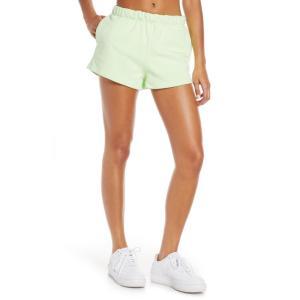 ナイキ NIKE レディース ショートパンツ ボトムス・パンツ NikeLab Collection Fleece Shorts Barely Volt|ef-3