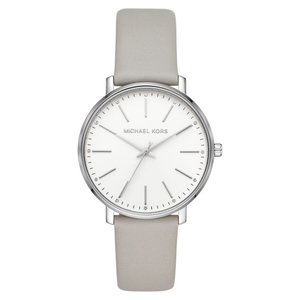 マイケル コース MICHAEL KORS レディース 腕時計 Pyper Leather Strap Watch, 38mm|ef-3