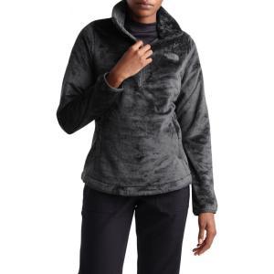 ザ ノースフェイス THE NORTH FACE レディース スウェット・トレーナー トップス Osito Quarter-Zip Pullover Sweatshirt Asphalt Grey|ef-3