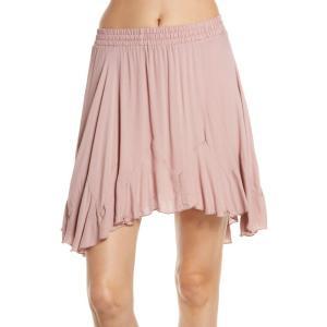 フリーピープル FREE PEOPLE レディース スカート Easy Does It Half Slip Skirt Pink|ef-3