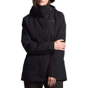 ザ ノースフェイス THE NORTH FACE レディース コート アウター Westoak City Waterproof & Windproof Coat Black|ef-3