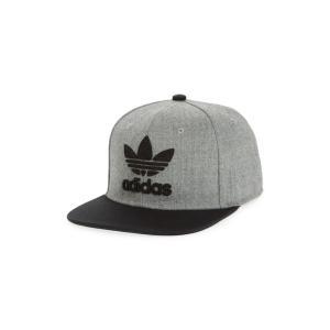 アディダス ADIDAS ORIGINALS メンズ キャップ 帽子 Trefoil Chain Snapback Baseball Cap|ef-3
