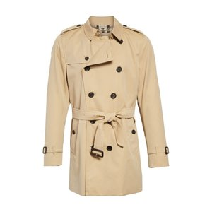 バーバリー BURBERRY メンズ トレンチコート アウター Kensington Double Breasted Trench Coat|ef-3