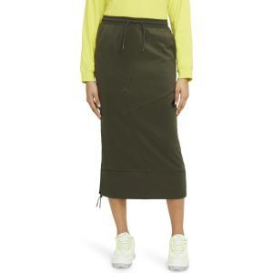 ナイキ NIKE レディース スカート Sportswear Nsw Skirt Cargo Khaki/Black|ef-3