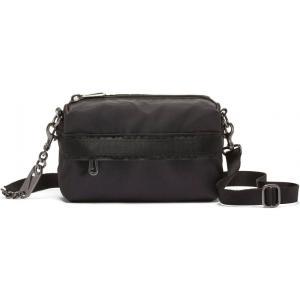 ナイキ NIKE レディース ショルダーバッグ バッグ Sportswear Futura Luxe Crossbody Bag Black/Black/White|ef-3