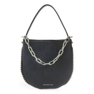 アレキサンダー ワン ALEXANDER WANG レディース ショルダーバッグ バッグ Mini Roxy Leather Hobo Bag|ef-3