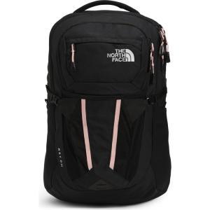 ザ ノースフェイス THE NORTH FACE レディース バックパック・リュック バッグ Recon Water Resistant Backpack Tnf Black Heather/Sand Pink|ef-3