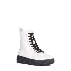 ジェオックス GEOX レディース ブーツ シューズ・靴 Phaolae Boot White Le...