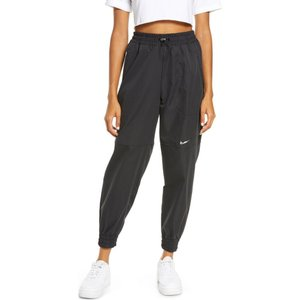 ナイキ NIKE レディース スウェット・ジャージ ボトムス・パンツ Sportswear Swoosh Sweatpants Black|ef-3