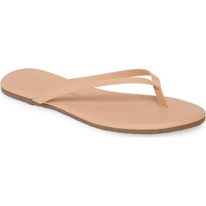 ティキーズ TKEES レディース ビーチサンダル シューズ・靴 Foundations Matte Flip Flop Nude Beach|ef-3