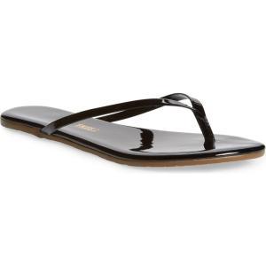ティキーズ TKEES レディース ビーチサンダル シューズ・靴 'Glosses' Flip Flop Licorice|ef-3