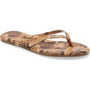 ティキーズ TKEES レディース ビーチサンダル シューズ・靴 'Studio' Flip Flop Coco Snake|ef-3