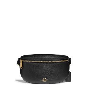 コーチ COACH レディース ボディバッグ・ウエストポーチ バッグ Pebbled Leather Belt Bag|ef-3