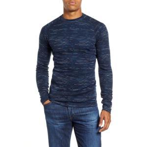 スマートウール SMARTWOOL メンズ 長袖Tシャツ トップス Merino 250 Wool Long Sleeve T-Shirt Deep Navy/ Bright Cobalt ef-3