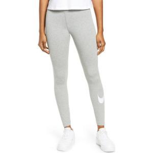 ナイキ NIKE レディース スパッツ・レギンス インナー・下着 Sportswear Swoosh Leggings Dark Grey Heather/White|ef-3