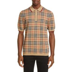 バーバリー BURBERRY メンズ ポロシャツ トップス Westbrook Vintage Ch...