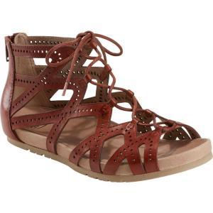 カルソーアースシューズ EARTH レディース サンダル・ミュール シューズ・靴 Lehi Lace-Up Sandal Terra Cotta Leather|ef-3